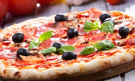 Pizza or Pasta Dinner for Two or Four with Wine at Cafe Milano Italian Restaurant and Pizzeria (Up to 44% Off)