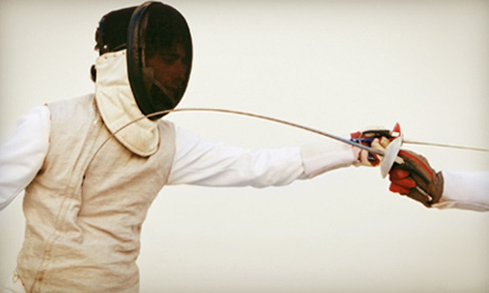 Morris Fencing Club - Randolph: Children's Fencing Courses at Morris Fencing Club in Randolph (Up to 74% Off). Three Options Available.