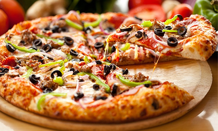 Rome's Pizza - Northwest Side: Italian and Mediterranean Food for Lunch or Dinner at Rome's Pizza (Up toHalf Off)