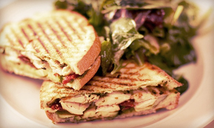 Barrel Run Crossing Winery and Vineyard - Rootstown: $10 for One Appetizer, Two Sandwiches or Salads, and One Dessert at Barrel Run Crossing Winery and Vineyard ($20 Value)