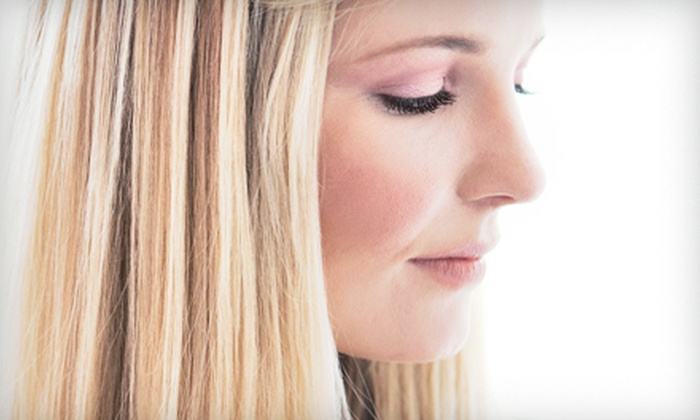 MJ Evans Beauty at LOLAMAX Salon - Windom: $59 for Haircut, Partial Foil, and Deep-Conditioning at MJ Evans Beauty at LOLAMAX Salon 54 (Up to $160 Value)