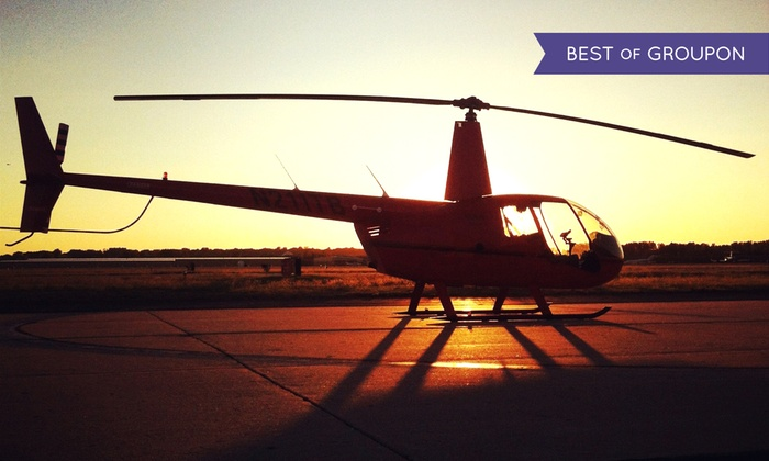Timberview Helicopters - Northland: 6- or 12-Mile Helicopter Flight for Up to Three from Timberview Helicopters (Up to 51% Off)