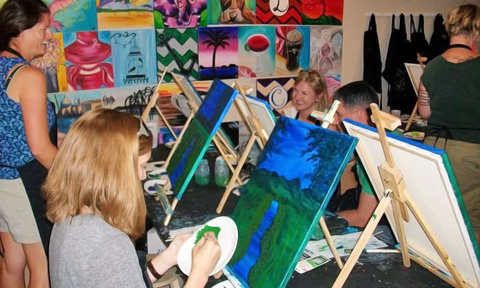 Wine and Design - New Bern: BYOB Painting Class at Wine and Design (Up to 46% Off)