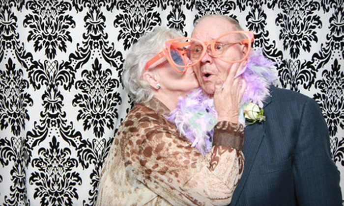The Studio MPLS - Multiple Locations: Two- or Three-Hour Photo-Booth Rental from The Studio MPLS (Up to 60% Off)