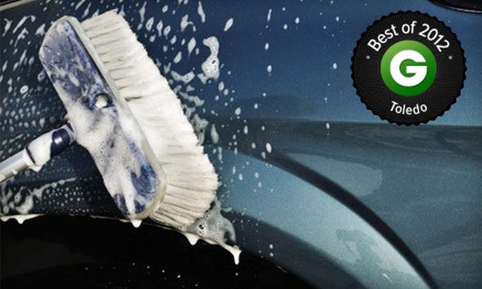 Expresso Car Wash - Multiple Locations: Detailing Package or Three Car Washes at Expresso Car Wash (Up to 53% Off)