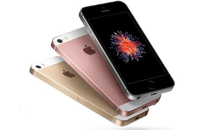 apple iphone se reconditionn groupon. Black Bedroom Furniture Sets. Home Design Ideas
