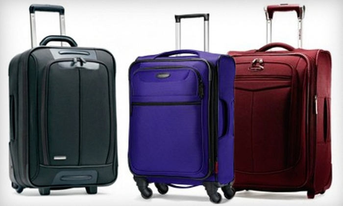 Luggage World MN - Minneapolis / St Paul: Luggage, Briefcases, and Backpacks at Luggage World MN (Up to 52% Off). Two Options Available.