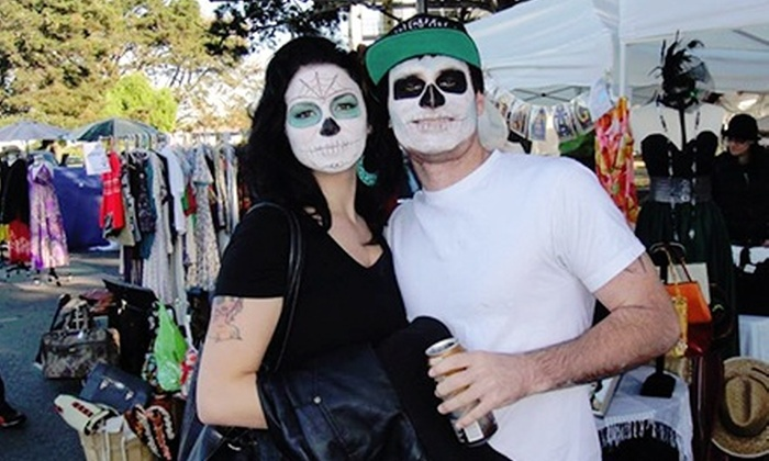 Treasure Island Flea - Napa / Sonoma: Admission to Halloween Special with Food and Drinks for Two or Four at Treasure Island Flea (Up to 58% Off)