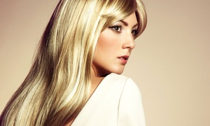 The Hair Groupie: Haircut Packages with Conditioning and Highlighting Options at The Hair Groupie (Up to 57% Off)