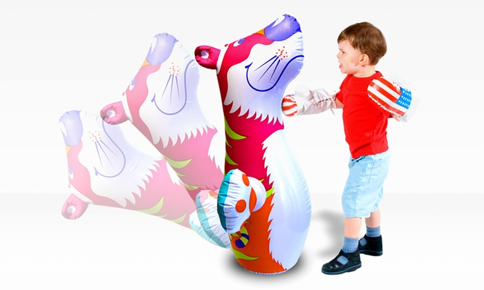 3D Inflatable Bop Bag: 3D Inflatable Bop Bag. Multiple Styles Available. Free Returns.