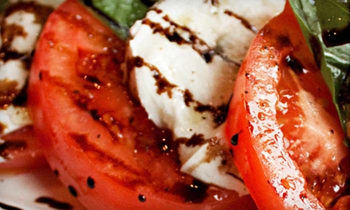 Via Carducci and Via Carducci La Sorella - Multiple Locations: $20 for $40 Worth of Italian Food at Via Carducci