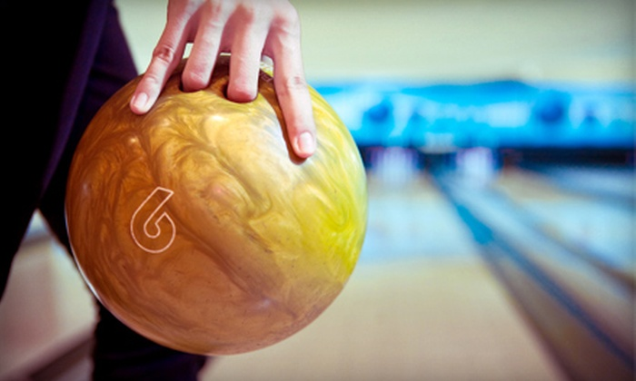 Colonial Bowling and Entertainment - Lawrence Township: Two Hours of Bowling with Shoes and Drinks for Two, Four, or Six at Colonial Bowling & Entertainment (Up to 76% Off)