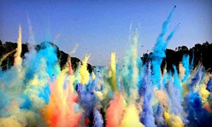 color my run - Southeast Raleigh: $25 for Color My Run 5K Race on Saturday, June 15 (Up to $50 Value)