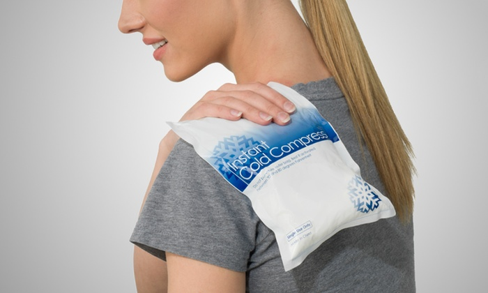 6- or 12-Pack of Instant Cold Compresses: 6- or 12-Pack of Instant Cold Compresses (Up to 78% Off)