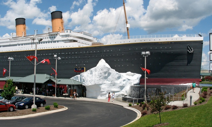 Titanic Branson - Branson: $55 for a Museum Visit for Two with $25 Gift-Shop Credit at Titanic Branson ($79 Value)