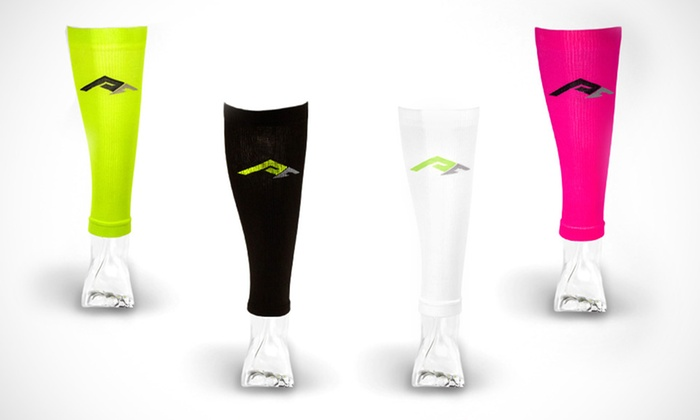 PRO Compression Calf Sleeves: 1 Pair of PRO Compression Calf Sleeves. Multiple Colors Available.