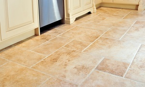 Dirt Free Carpet & Tile Cleaning: $99 for Tile and Grout for 200 Square Feet from Dirt Free Carpet & Tile Cleaning ($200 Value)