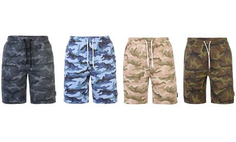 Pantalones cortos de camuflaje para hombre Pierre Cardin