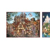 Set of Two 1,500-Piece Jigsaw Puzzles