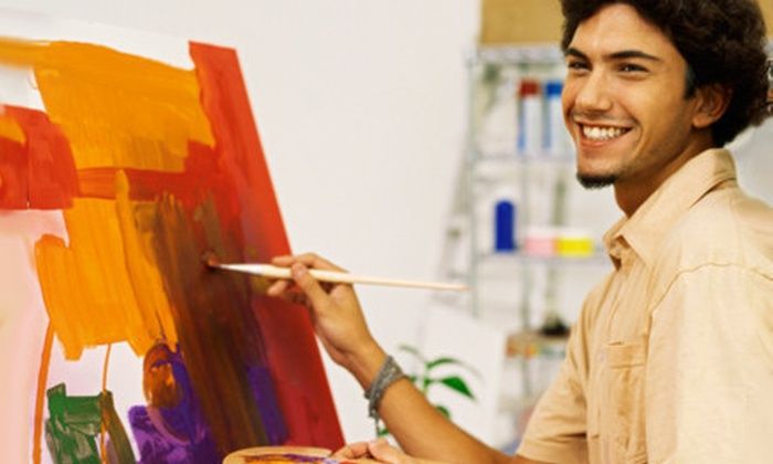 Artful Hours - Colony Crossing at Madison: One or Two BYOB Painting Classes for One or Two People at Artful Hours (Up to 59% Off)