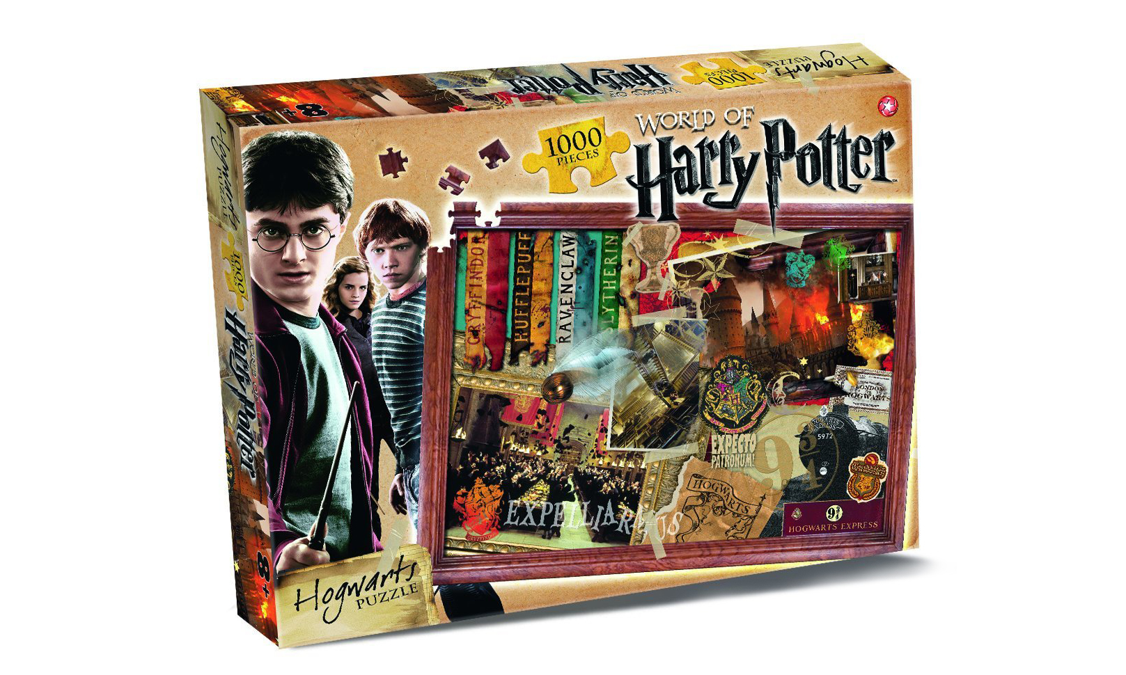 Two 1000-Piece Harry Potter Jigsaw Puzzles From £9.98