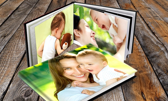 Printerpix: Custom Padded Hardcover Photo Book from PrinterPix (Up to $76 Off) from $7.99- $18.99
