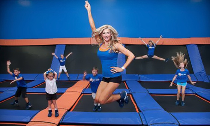 Sky Zone Anaheim Indoor Trampoline Park - Anaheim: One-Hour Weekday or Weekend Open-Jump Session  or Birthday Package at Sky Zone Anaheim Indoor Trampoline Park (Up to 53% Off)