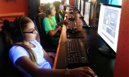 All-Day Gaming Pass for One or Two, or a Two-Hour Party for Up to 10 Kids at ICE Computer Cafe (Up to 53% Off)