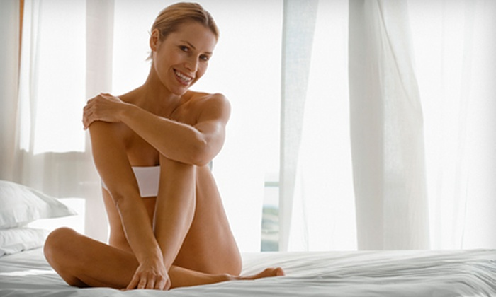 Hannah's Euro Spa - Thorold: One or Two Brazilian Sugaring Treatments with Sugaring for Underarms and Eyebrows or Half Legs at Hannah's Spa (54% Off)
