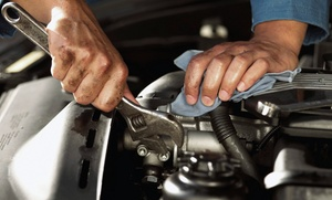 Good Brakes Automotive: $285 for $569 towards Fuel Injection, Oil Change, Power Steering Flush, Brakes Flush, Cooling System Flush, Rotate Tires