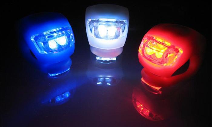 Jusqu A 84 Lampe Led En Silicone Pour Velo Groupon