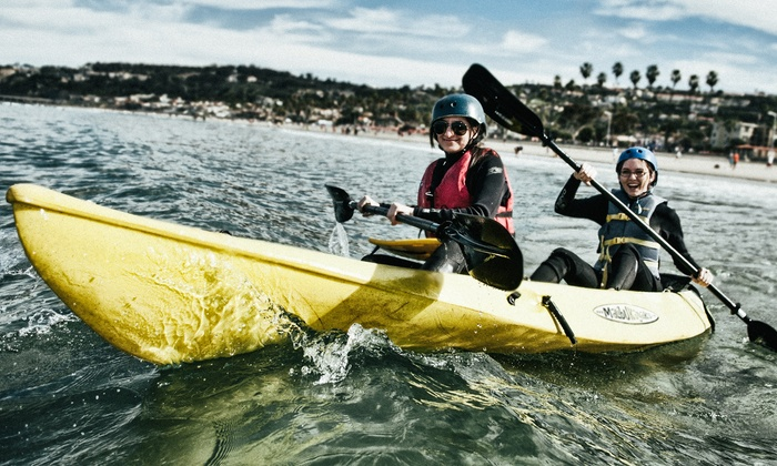 Everyday California - La Jolla Shores: Two-Hour Kayak Whale-Watching Tour for One or Two from Everyday California (Up to 75% Off)