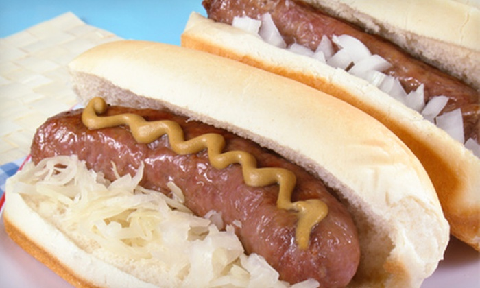 JAK's Hot Dogs - Miami: $10 for Two Groupons, Each Good for $10 Worth of Hot Dogs, Polish Sausages, and Fast Food at JAK's Hot Dogs ($20 Value)