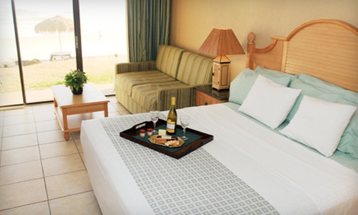 Makai Beach Lodge - Ormond Beach, FL: Three-Night Stay for Up to Four or Two in an Oceanfront Room at Makai Beach Lodge (Up to 57% Off)