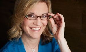 Custom Eyes Optometry: Eye Exam with Optional Contact Fitting or Glasses Credit at Custom Eyes Optometry (Up to 79% Off)