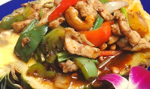 Red Bowl Aiken: $9 for $15 Worth of Pan-Asian Cuisine for Dinner at Red Bowl Aiken