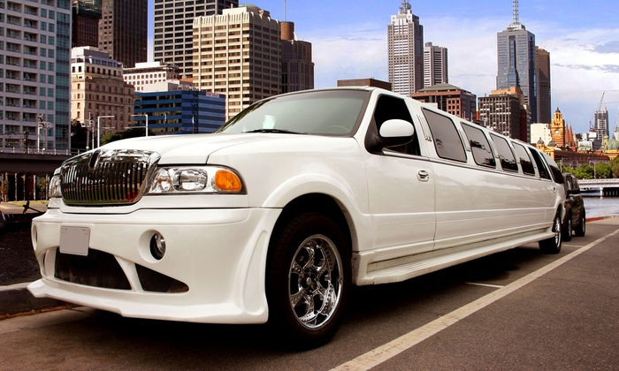 LUXE Limousine - On Location: $199 for Three Hours of Limousine Service for Up to 14 Passengers in a Stretch SUV from LUXE Limousine ($750 Value)