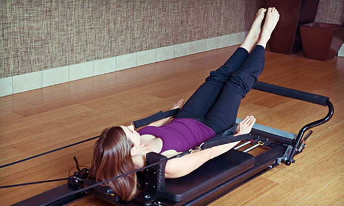 1st Class Pilates - Bellaire: 8 or 12 Pilates Classes or One Month of Unlimited Pilates Classes at 1st Class Pilates in Bellaire (Up to 89% Off)