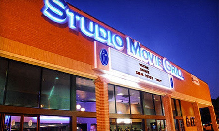 Studio Movie Grill - Multiple Locations: $6 for a Movie and Soda at Studio Movie Grill (Up to $12.74 Value). Two Locations Available.