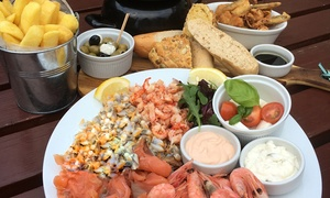 The Jolly Sailor: Seafood Sharer with Prosecco for Two, Four or Six at The Jolly Sailor (Up to 53% Off)