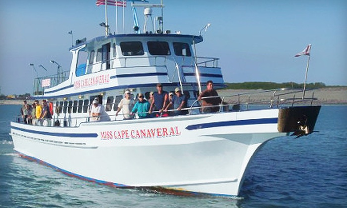 Miss Cape Canaveral Fleet - Cape Canaveral: All-Inclusive Sunset Shark-Fishing or Half- or Full-Day Fishing Tour from Miss Cape Canaveral Fleet (Up to 53% Off)