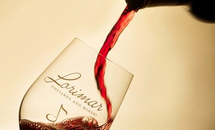 Weekday or Weekend Wine Tasting for Two or Four at Lorimar Vineyards and Winery (Up to Half Off)