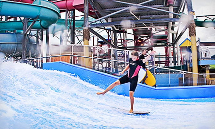 Splash Zone - Wildwood: Splash Zone Water-Park Visit for Two or Four (Up to 52% Off)