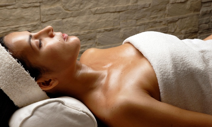 Aza & Company Salon and Day Spa - Cedarhurst: Rejuvenating or Detox Body Wrap with Optional 30-Minute Mini Facial at Aza & Company Salon and Day Spa (Up to 57% Off)