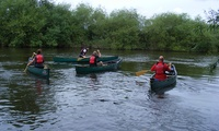 Half-Day River Wye Guided Trip Canoeing for One or Two with Way2Go Adventures (49% Off)
