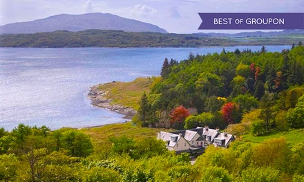 Oban: 1 or 2 Nights for Two with Breakfast; with Option for Dinner at Loch Melfort Hotel