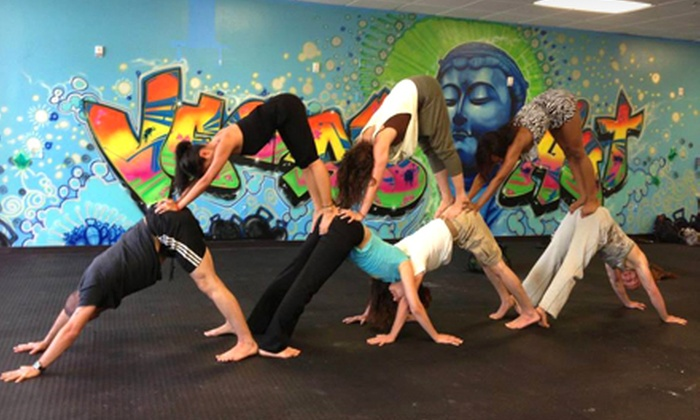 Vegas Hot! Yoga and Pilates - South West: 10 or 20 Fitness Classes at Vegas Hot! Yoga and Pilates (Up to 88% Off)