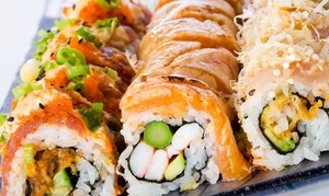 Ninja Sushi: $17 for $30 Worth of Sushi and Japanese Food for Dinner at Ninja Sushi in West Bloomfield Township