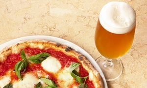Fiddler's Pub: Two or Four 12-Inch One-Topping Pizzas and Beers at Fiddler's Pub (Up to 45% Off)
