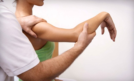 One-Hour Massage, Adjustment with an Acupuncture Treatment, or Both at Governor's Park Chiropractic (Up to 83% Off)